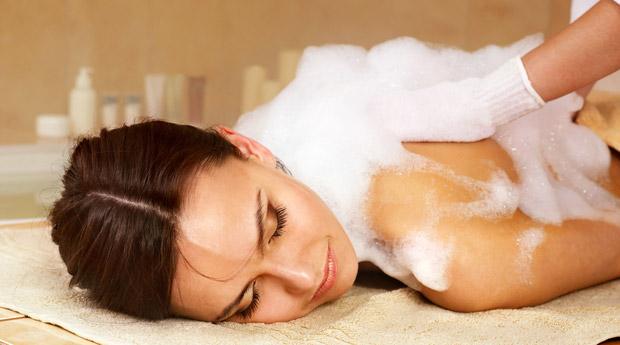 Как сделать мыльный массаж 341