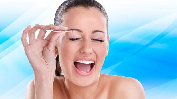 Как не больно выщипывать брови в домашних условиях 84